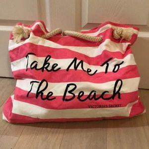 NEW Victoria's Secret beach tote
